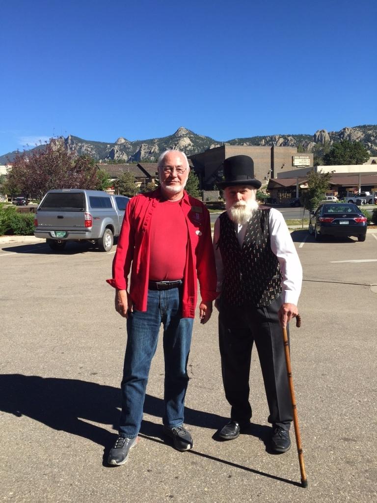 With Paul in Estes Park