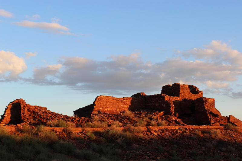 Sunrise at Wupatki Pueblo